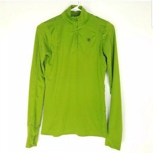 Ariat Womens Size XS Sweatshirt Green Pullover